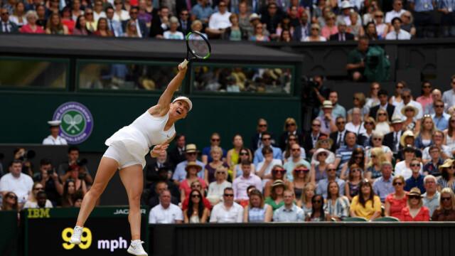 Simona Halep, prima campioană a României la Wimbledon. Victorie istorică, în mai puţin de o oră - Imaginea 3