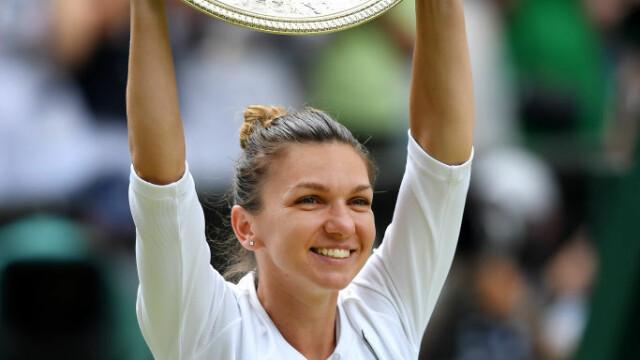 Simona Halep, prima campioană a României la Wimbledon. Victorie istorică, în mai puţin de o oră - Imaginea 23