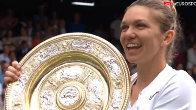 Reacția lui Kate și Meghan, după victoria Simonei Halep la Wimbledon 2019. FOTO + VIDEO - Imaginea 6