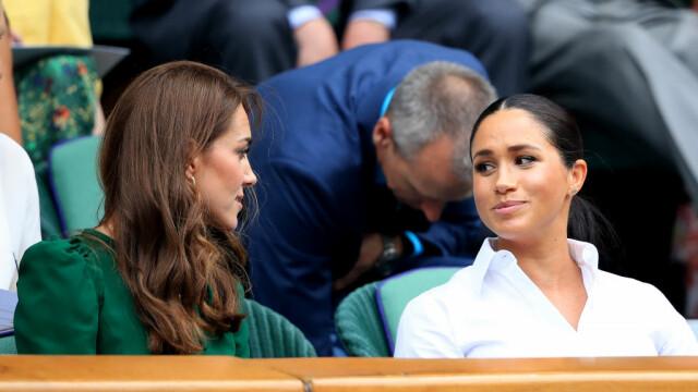 Reacția lui Kate și Meghan, după victoria Simonei Halep la Wimbledon 2019. FOTO + VIDEO - Imaginea 1