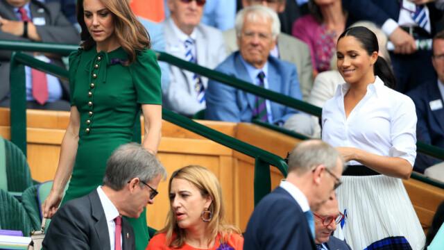 Reacția lui Kate și Meghan, după victoria Simonei Halep la Wimbledon 2019. FOTO + VIDEO - Imaginea 3