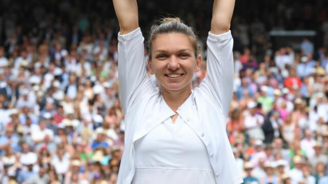 Simona Halep, prima campioană a României la Wimbledon. Victorie istorică, în mai puţin de o oră - Imaginea 17