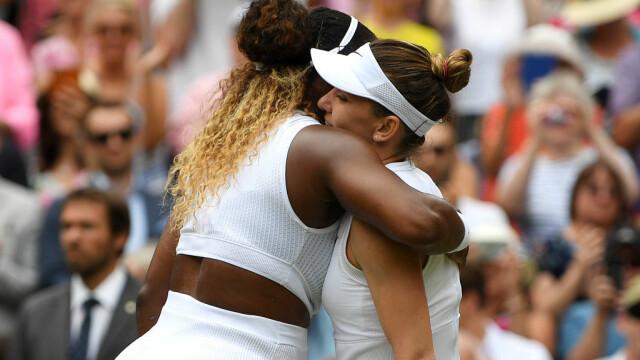 Primele imagini cu Simona Halep cu trofeul de la Wimbledon. GALERIE FOTO - Imaginea 18