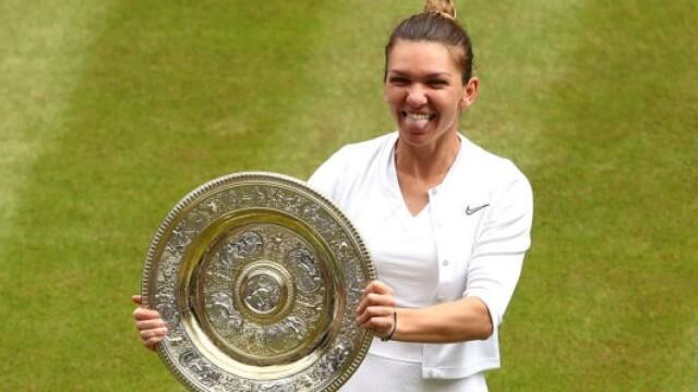 Simona Halep, prima campioană a României la Wimbledon. Victorie istorică, în mai puţin de o oră - Imaginea 24