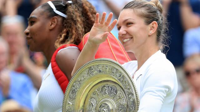 Simona Halep, prima campioană a României la Wimbledon. Victorie istorică, în mai puţin de o oră - Imaginea 25