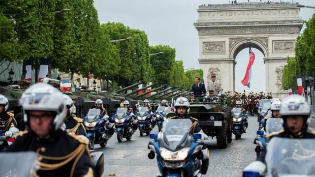 Președintele francez Emmanuel Macron a deschis festivitățile de Ziua Franței
