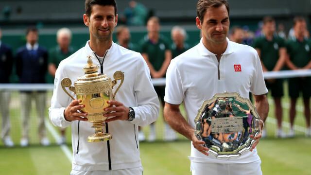 Djokovic, un nou titlu la Wimbledon. A fost cea mai lungă finală din istoria turneului - 1
