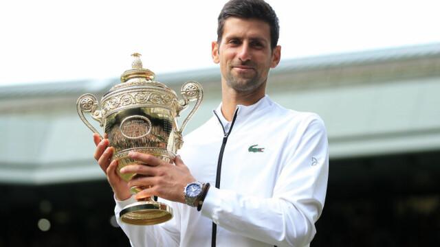 Djokovic, un nou titlu la Wimbledon. A fost cea mai lungă finală din istoria turneului - 6