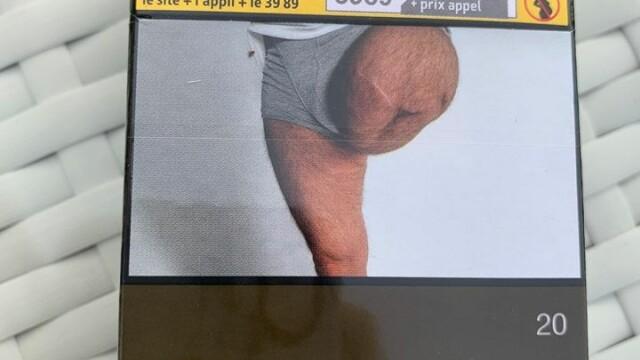 Descoperirea făcută de un bărbat pe un pachet de țigări: