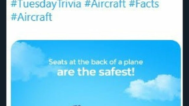 O companie aeriană a dezvăluit cele mai sigure locuri din avion. De ce a șters mesajul - Imaginea 2