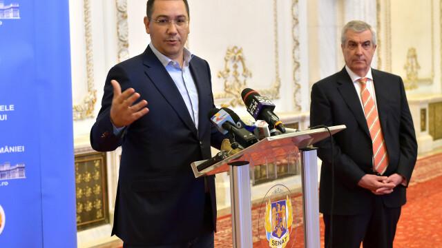 Calin Popescu Tariceanu, Victor Ponta