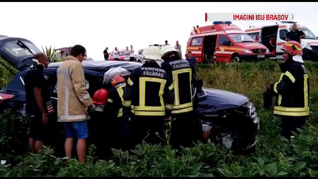 Cinci turişti israelieni, accident grav pe DN1. Greșeala comisă de șofer