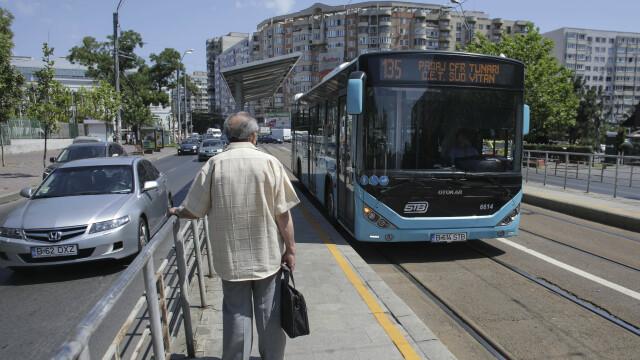 FOTO&VIDEO. Autobuzele STB au început să circule pe liniile de tramvai