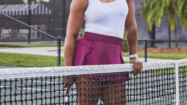 Cea mai tare echipă. Imaginile cu Serena Williams și fiica ei pe terenul de tenis i-au emoționat pe toți - Imaginea 3