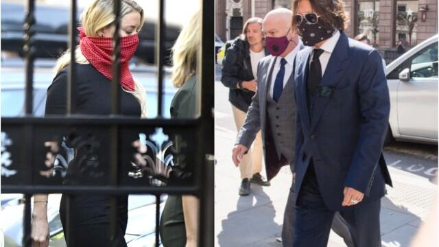 Johnny Depp, audiat în procesul intentat de fosta soție, Amber Heard. VIDEO - Imaginea 2
