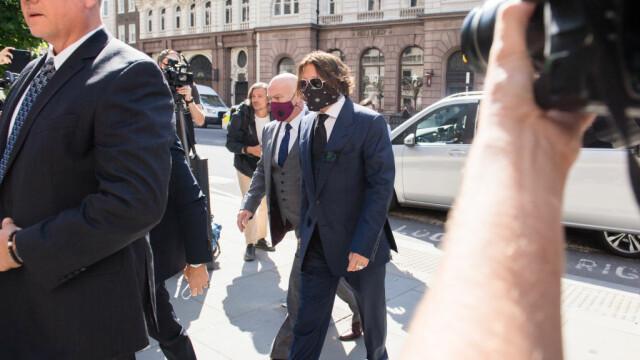 Johnny Depp, audiat în procesul intentat de fosta soție, Amber Heard. VIDEO - Imaginea 4