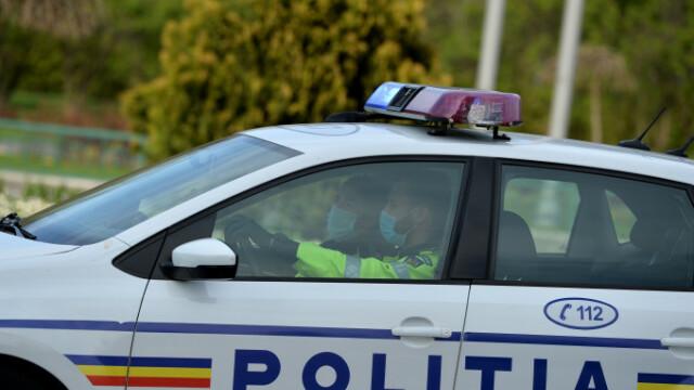 Un bărbat din Câmpulung a intrat cu mașina într-un grup de motocicliști