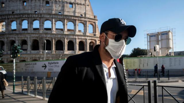 Purtarea măştii în exterior, obligatorie la Roma. Orașele în care s-a decis același lucru
