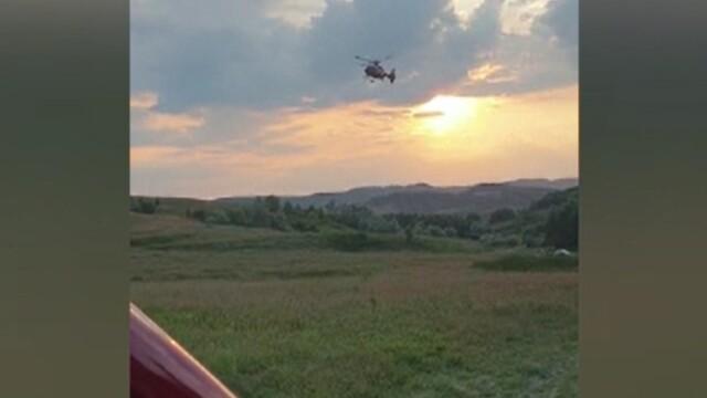 Tânăr de 22 de ani, transportat cu elicopterul SMURD la spital după ce a căzut de pe ATV