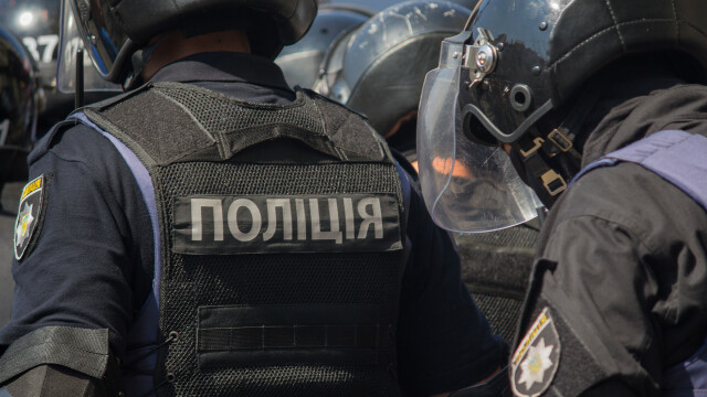 Confruntări violente între poliţie şi manifestanţi anti-carantină la Kiev. 40 de ofițeri răniți
