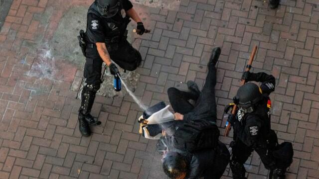 Protestele antirasism iau amploare în SUA. Manifestații violente în mai multe orașe - Imaginea 2