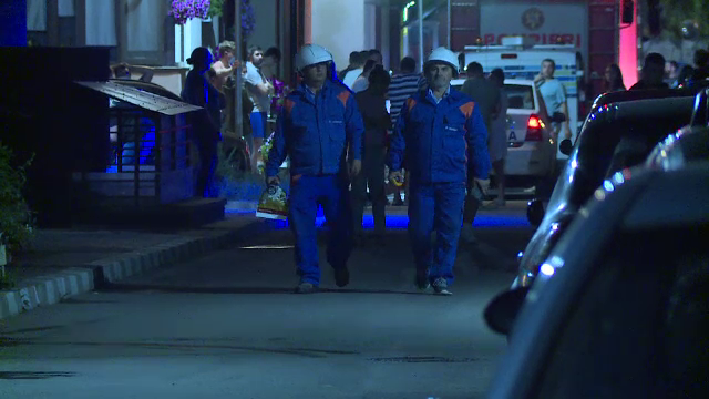 Explozie în Popești-Leordeni