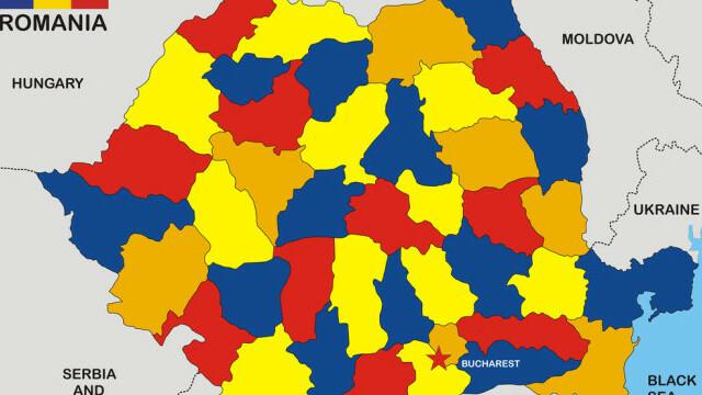 Coronavirus România. Județele în care s-au înregistrat cele mai multe cazuri noi de îmbolnăvire în ultimele 24 de ore