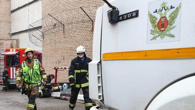 Incendiu într-un penitenciar pentru femei din Moscova. 850 de persoane evacuate. VIDEO - Imaginea 11