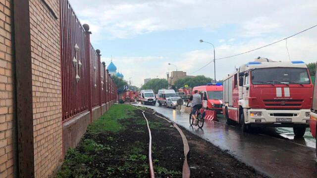 Incendiu într-un penitenciar pentru femei din Moscova. 850 de persoane evacuate. VIDEO - Imaginea 10