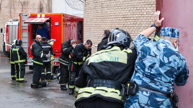 Incendiu într-un penitenciar pentru femei din Moscova. 850 de persoane evacuate. VIDEO - Imaginea 9