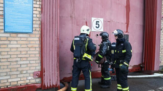 Incendiu într-un penitenciar pentru femei din Moscova. 850 de persoane evacuate. VIDEO - Imaginea 5