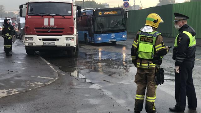 Incendiu într-un penitenciar pentru femei din Moscova. 850 de persoane evacuate. VIDEO - Imaginea 3