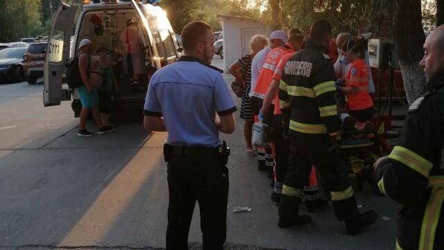 VIDEO. Accident naval la Murighiol, cu 13 persoane implicate. A fost activat Planul Roșu de intervenție - Imaginea 1