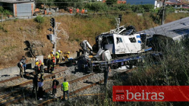 Un tren de mare viteză a deraiat în Portugalia. Doi morți și 37 de răniți