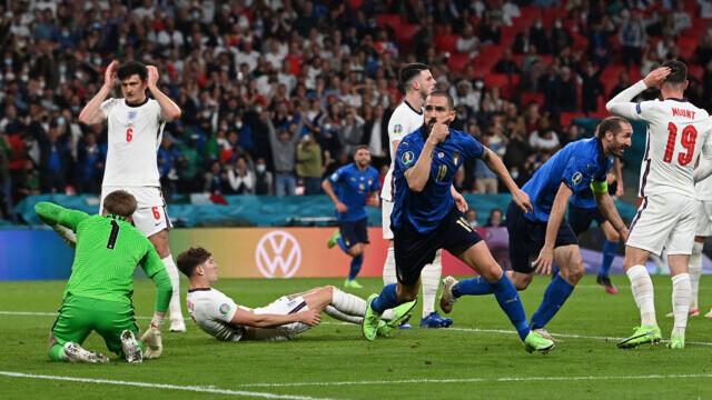 Italia, campioană la EURO 2020 după o finală dramatică. Meciul, decis la loviturile de departajare - Imaginea 6