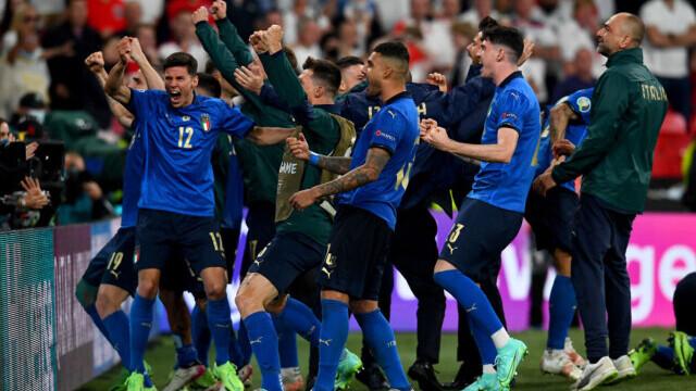 Italia, campioană la EURO 2020 după o finală dramatică. Meciul, decis la loviturile de departajare - Imaginea 9