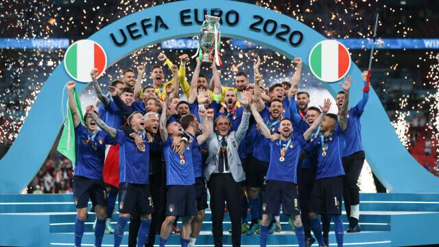 Italia, campioană la EURO 2020 după o finală dramatică. Meciul, decis la loviturile de departajare - Imaginea 10