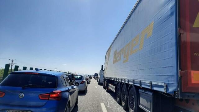 Carambol pe A2, pe sensul București- Constanța. Peste 50 de mașini au fost implicate - Imaginea 11