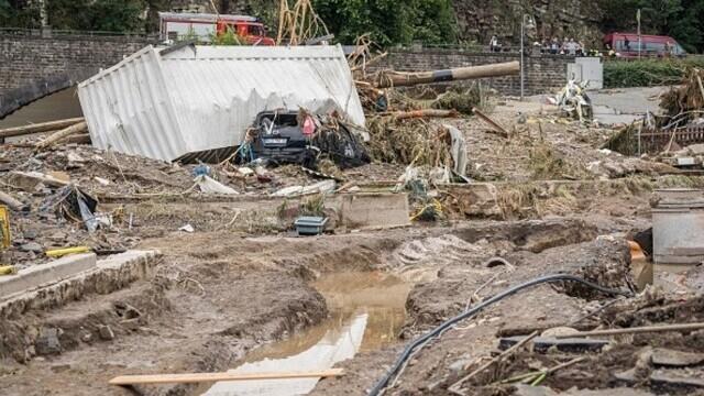 """Analiză AFP: De ce inundaţiile din Europa sunt atât de devastatoare? """"Pământul devine din ce în ce mai cald"""" - Imaginea 18"""