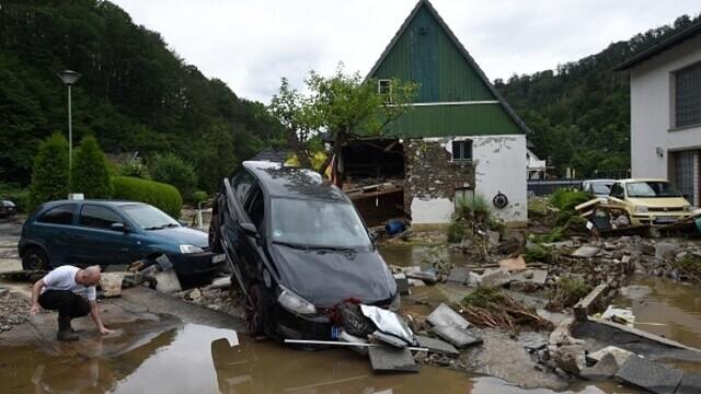 """Analiză AFP: De ce inundaţiile din Europa sunt atât de devastatoare? """"Pământul devine din ce în ce mai cald"""" - Imaginea 17"""