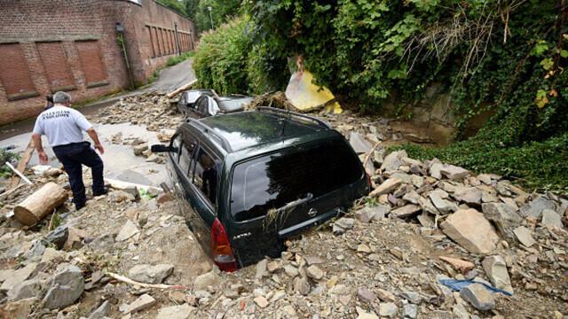 """Analiză AFP: De ce inundaţiile din Europa sunt atât de devastatoare? """"Pământul devine din ce în ce mai cald"""" - Imaginea 16"""