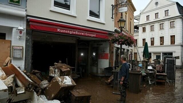 """Analiză AFP: De ce inundaţiile din Europa sunt atât de devastatoare? """"Pământul devine din ce în ce mai cald"""" - Imaginea 8"""