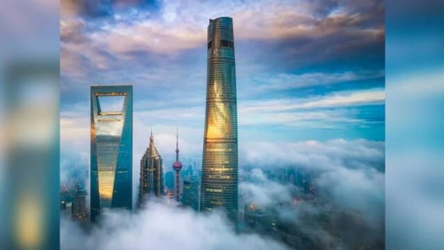 Cel mai înalt hotel din lume, inaugurat de chinezi. Apartamente de super-lux la 632 de metri - Imaginea 1