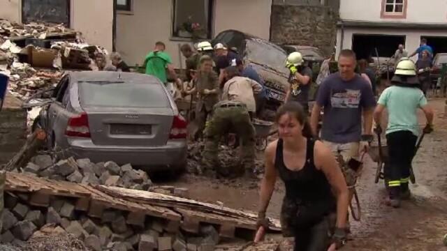 """Analiză AFP: De ce inundaţiile din Europa sunt atât de devastatoare? """"Pământul devine din ce în ce mai cald"""" - Imaginea 3"""