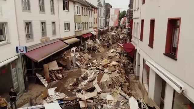 """Analiză AFP: De ce inundaţiile din Europa sunt atât de devastatoare? """"Pământul devine din ce în ce mai cald"""" - Imaginea 2"""