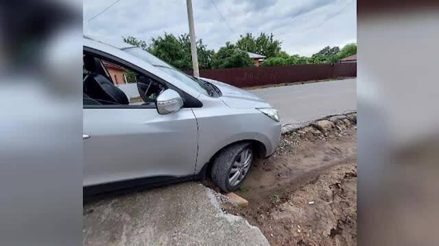 Orașul distrus de lucrările de infrastructură prost făcute: canale descoperite, gropi și oameni disperați - Imaginea 1