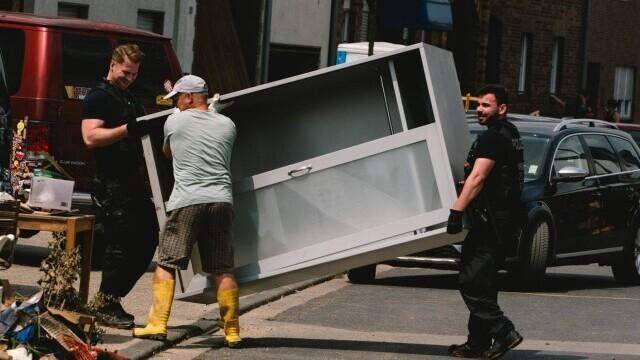 Bilanţul deceselor a crescut la 180 în Germania, după inundațiile devastatoare. Alte 150 de persoane sunt date dispărute - Imaginea 3
