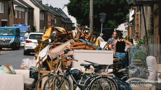 Bilanţul deceselor a crescut la 180 în Germania, după inundațiile devastatoare. Alte 150 de persoane sunt date dispărute - Imaginea 6