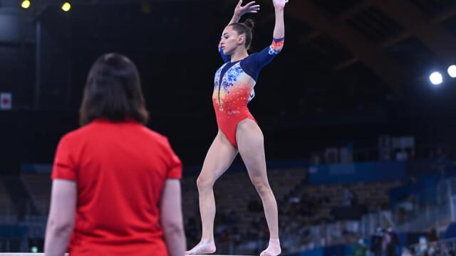 Jocurile Olimpice de la Tokyo. Larisa Iordache s-a calificat în finală la bârnă - Imaginea 3