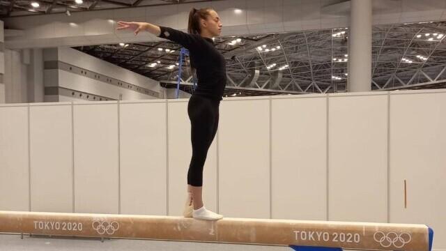 Larisa Iordache și-a reluat antrenamentele la Tokyo. Când are loc finala la bârnă